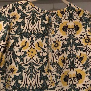 Zara Dresses - Zara Floral Print Midi Dress SZ M